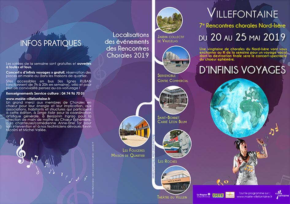Les Rencontres Chorales Nord Isère - Avanie & Framboise